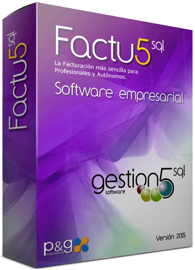Factu5 SQL software Finanzas