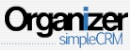 Organizer simple CRM software CRM