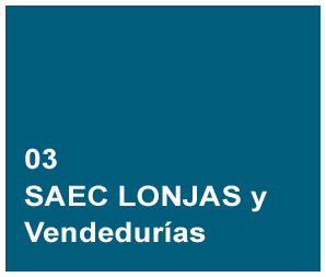 SAEC Lonjas y Vendedurías software Supply Chain (SCM)
